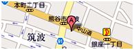 東進衛星予備校熊谷筑波校MAP